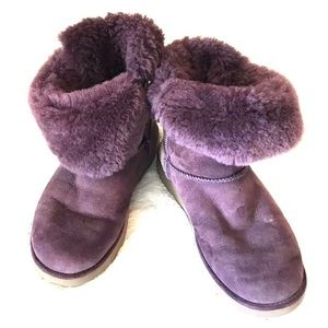 Ugg Boots Jaylyn Purple Side Buckle Size: US 9